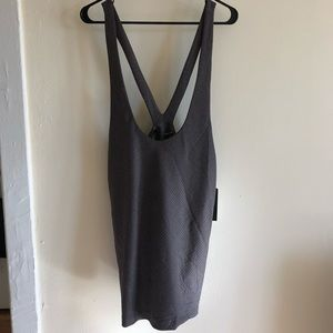 NWT Zara Suspender Pencil Skirt Pockets Jumper